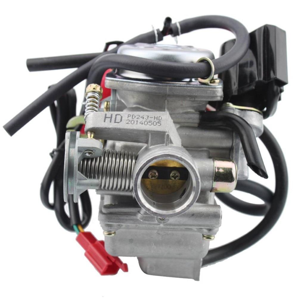 PD 24 GY6 157QMJ ENGINE CARBURETOR FOR HAMMERHEAD,YERF DOG 150CC GO KART