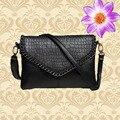 2017 fashion handbag women small shoulder bag women messenger bags for women black evening crossbody bags Alligator pu leather