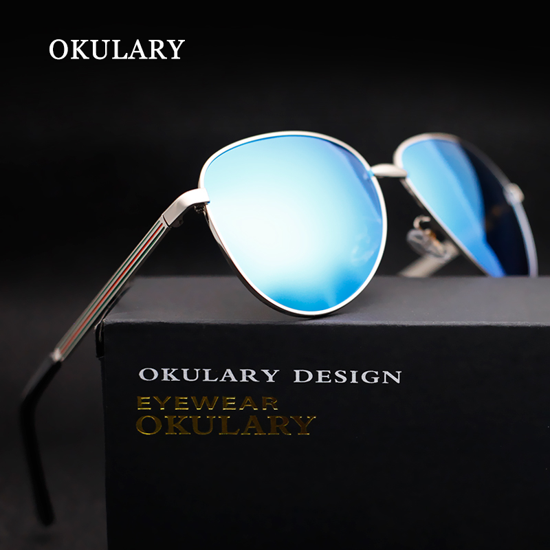 OKULARY Classic Aviator Polarized Mens Sunglasses Brand Designer Outdoor Sports Driving Sun Glasses Hot Sale free shipping