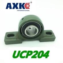 Ограниченное по времени предложение стальной шариковый подшипник rodamitos Ucp204 20 мм опорный подшипник с корпусом Axk
