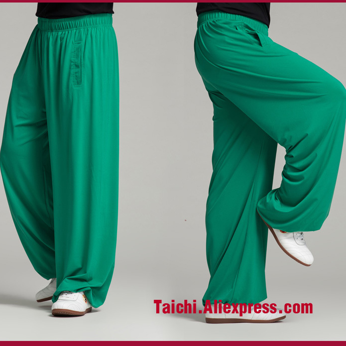 Tai Chi Pants Men And Women Home Furnishing Kungfu  Trousers Kung Fu Martial Art Pants Yoga Pants