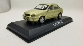 цена на 1:43 Diecast Model for GM Buick Sail 2004 old Sedan Classic Vehicle Rare Alloy Toy Miniature Collection Gifts