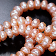 LINDO Amazing price AAAA high quality natural freshwater pearl necklace for women 3 colors 8-9mm pearl jewelry 45cm