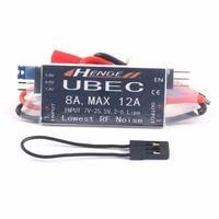HENGE UBEC Saída 8A 5 V/6 V/7.4 V 6A/8A Max 12A Inport 7 V  25.5 V Lipo 2 6 S/6 16 Ni Mh célula de Entrada Interruptor de Modo BEC para RC helicóptero|Peças e Acessórios| |  -