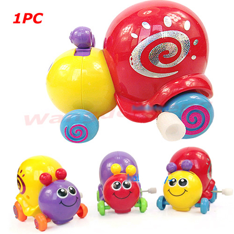 New 1Pc Lovely Snail Cartoon Animal Clockwork Design Toys Funny For Childrens Kids Gift