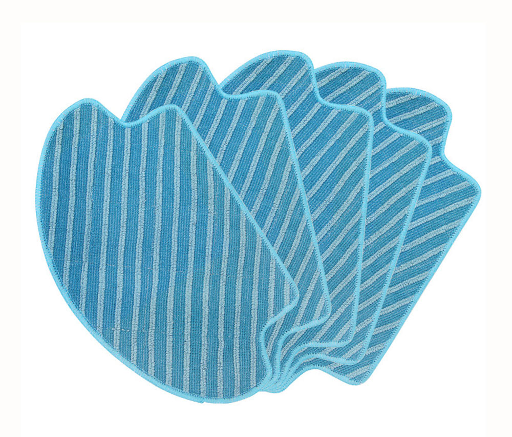Washable Wet & Dry Mopping Pad for Ecovacs DEEBOT DT85 DT83 DM81 SDT85G Robotic Vacuum Cleaner Mop Pads