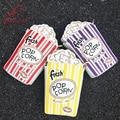 Personalidade da moda letras bordadas bonito forma da pipoca cadeia ombro saco saco do mensageiro bolsa das senhoras da embreagem bolsa flap