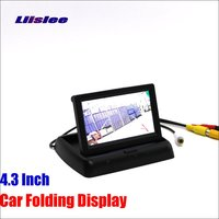 Liislee For Peugeot 407 2D coupe / 4D Sedan Foldable Car HD TFT LCD Monitor Screen Display / NTSC PAL Color TV System