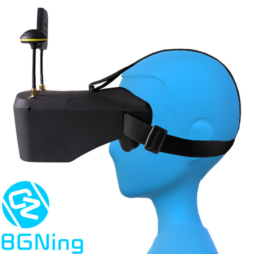 LS 800D FPV Goggles 5 8G 40CH 5inch HD DVR Video Headset Kit for RC DIY