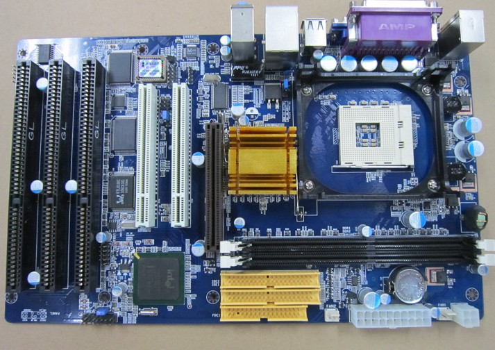 2017 China High Quality 845GV with One ISA Motherboard,Support Socket 478 CPU, 2 PCI Slots, Onboard VGA ,LAN ,Sound, IM845GV ISA