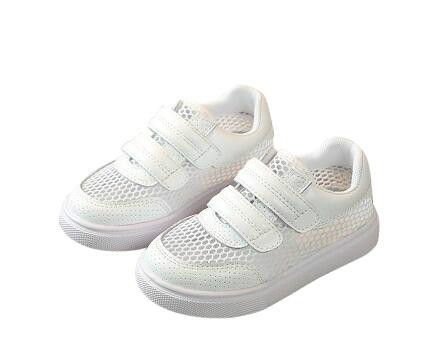 Spring and Summer Childrens New Korean Version Leather Shoes,breathed Boys and Girls Tennis Soft Bottoms Shoes,kids Shoe