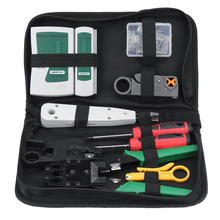 9 in 1 LAN Network Fix Cable Tester Crimper Plier Hand Tool Kit Cat5 RJ45 RJ11 RJ12 Stripping Make Ethernet Connector Test