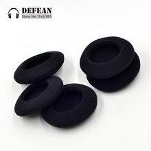 10x almofada de espuma almofadas de cobertura de ouvido almofada para philips shm1500 sbc hs500 fones de ouvido