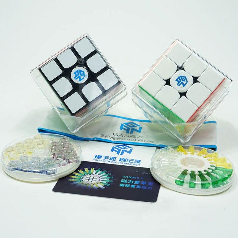 Gan 356 X magnétique 3x3x3 Cube magique vitesse Cube jouet professionnel Gans Cubo Speedcube Magico Gan 356x r
