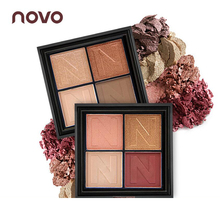NOVO 4 Colors Infinite Charm Eye Shadow Matte Shimmer Shining Eyeshadow Palette