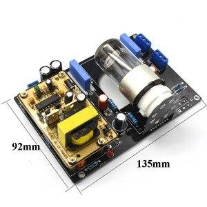 Image 2 - Lusya Amplificador de tubo de vacío, 6N8P(6H8C 6SN7) de Audio para coche DC12V, placa HiFi, preamplificadora B1 005