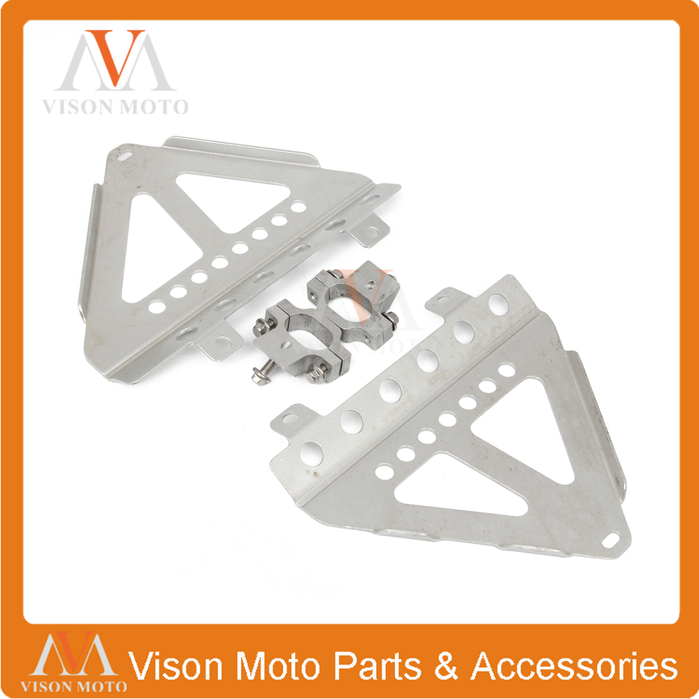 Motorcycle Water Box Radiator Cover Guard Bracket For HONDA CRF250R CRF 250R 2014 2015 2016 for honda crf 250r 450r 2004 2006 crf 250x 450x 2004 2015 red motorcycle dirt bike off road cnc pivot brake clutch lever