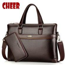 Хит, модная мужская сумка, мужская деловая сумка, портфель, мужская сумка на плечо, высокое качество, дизайнерские сумки для ноутбука с ручными ручками