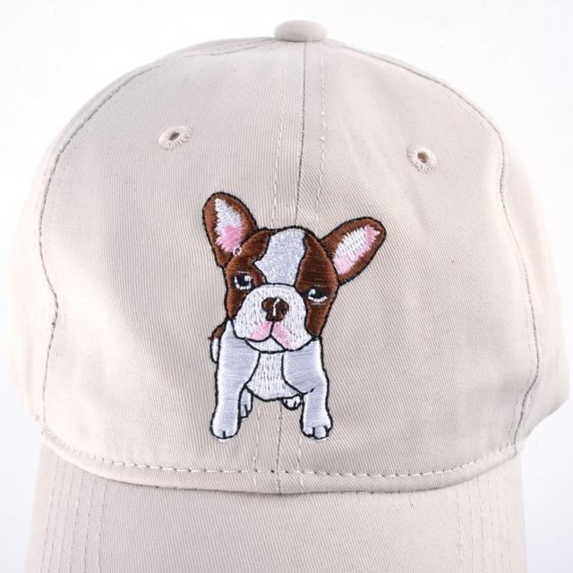 Casual Cute Dog Printed Cap