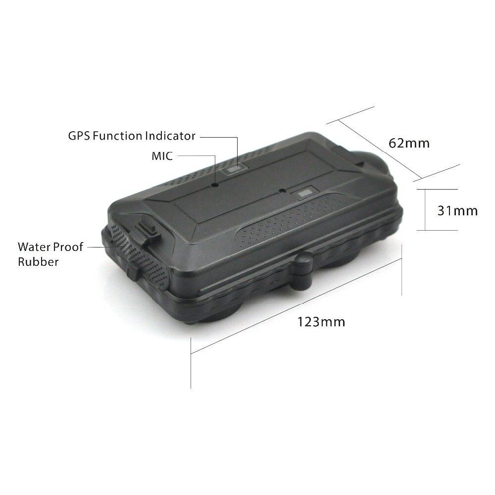 kingneed TK05G 3G WCDMA Car Gps Tracker 5000mAh Magnet 3G Vehicle Tracker GPS+GSM+WIFI Positioning Offline Logger gobal gps