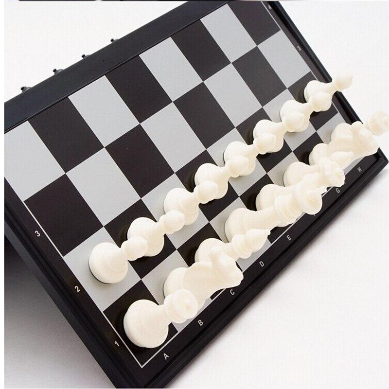 19.5*19.5 средневековой складной шахматы Игрушки с дополненной реальностью выполните шахматы международных слово шахматы обучения и образова...
