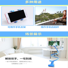 NewMobile Phone Support Bed Car Holder Flexible 360 Degree Rotation Mount Mobile For Smartphone