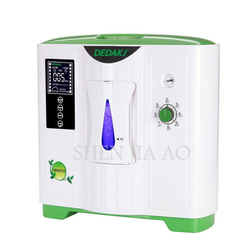 9L sauerstoff konzentrator generator sauerstoff, der maschine sauerstoff erzeugenden maschine DE-2A/DDT-2A luftreiniger mit Englisch version
