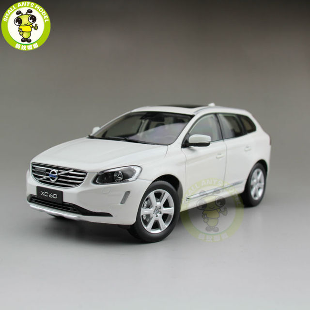 1/18 Volvo XC60 T6 AWD SUV Diecast Model Car SUV White-in