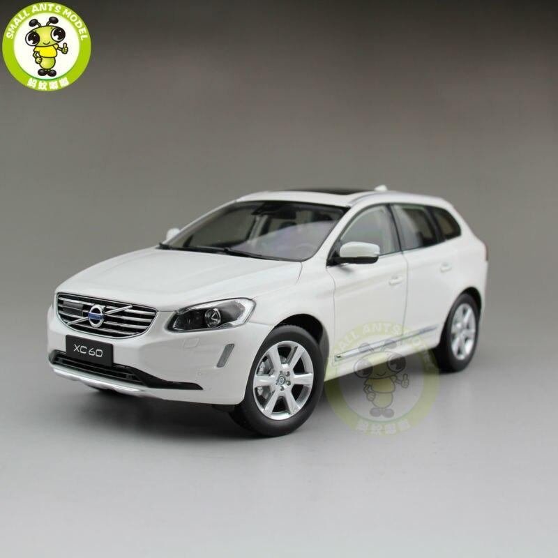 1/18 Volvo XC60 T6 AWD SUV Diecast Model Car SUV White