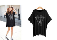 Loose Large Size T Shirt Good Quality Women Thin Printing Short Sleeved T Shirt Fat MM