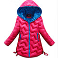 2016 Brand Kids Winter Warm Wind-Proof Coat Snow Warm With Thick Duck Down Cotton Christmas Jacket Kids School Winter Coat Hot