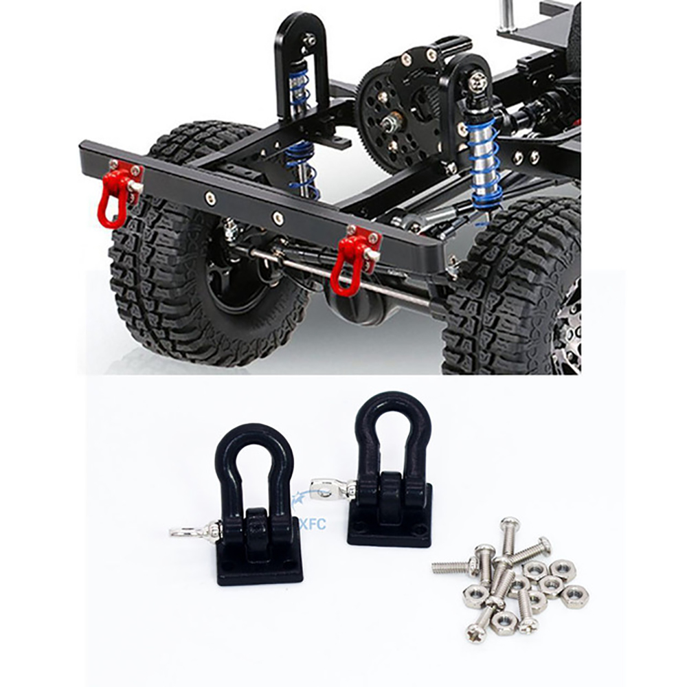 RC Crawler 1:10 Tow Hook Trailer Chain Shackle Bracket for Axial SCX10 RC4wd
