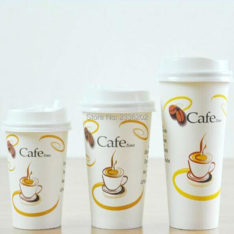 Customizable  oz Hot Drink Coffee Milk Paper Cups Can Print LOGO     Etsy