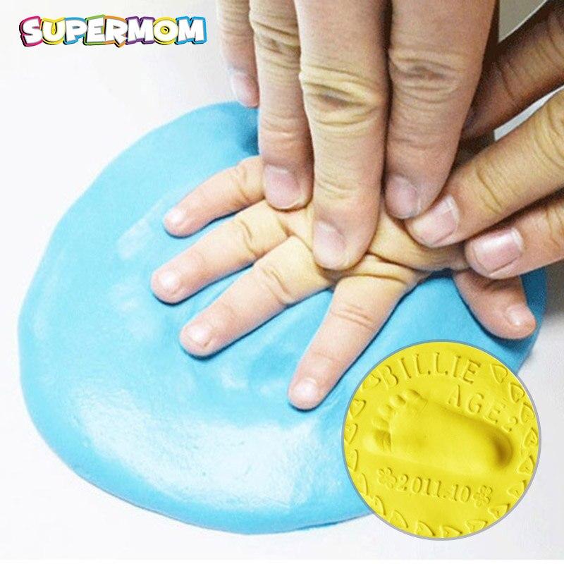 Baby Hand Footprint Makers Commemorating Newborn Growth 3D Fingerprint Makers Imprint Kits Parent-child Inkpad Souvenirs