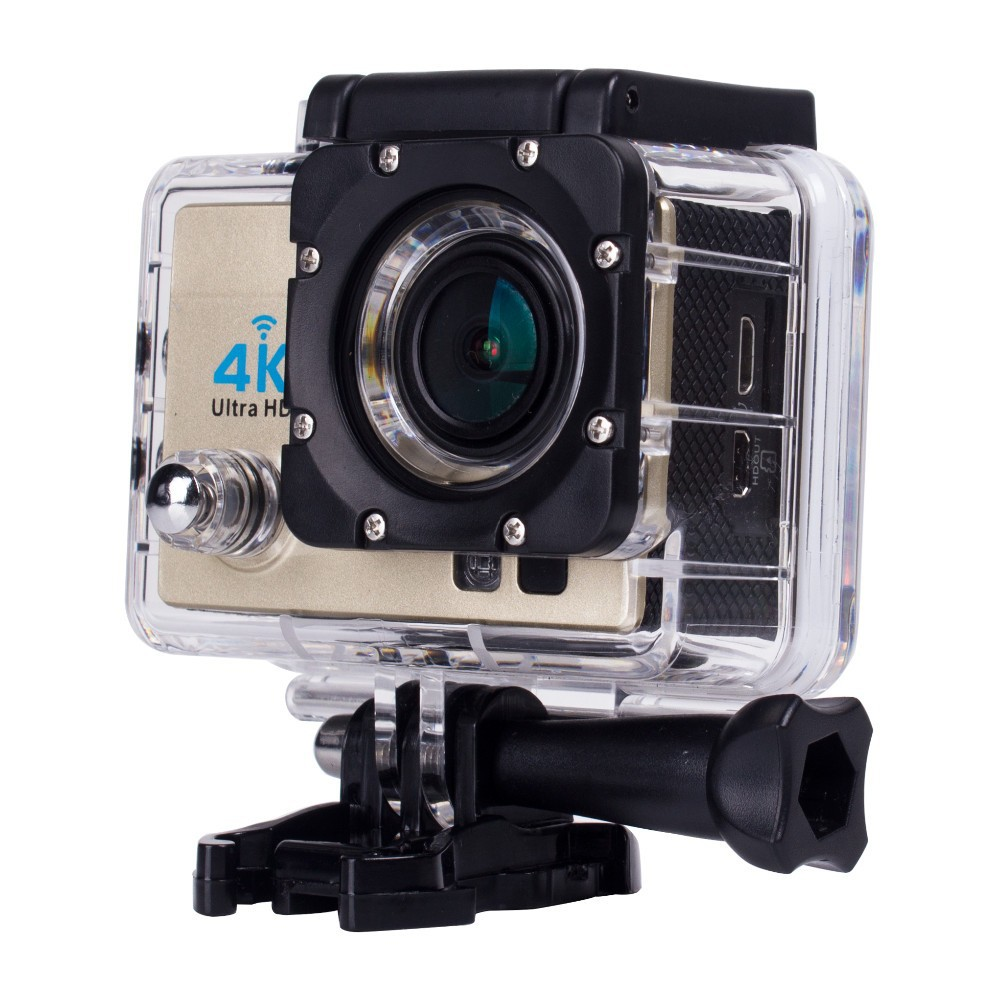 Q3H 2 LCD 4K WiFi Sports Camera 1080P Full HD 170 Wide Angle Action Video Camera Remote Control Waterproof Case