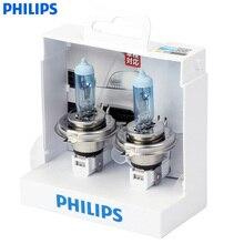 Philips whitevision одна пара Car галогенные фары 4300 К H1 H4 H7 H11 H3 HB3 HB4 12 В 55 Вт whitelight скрасить 60% Фары для автомобиля
