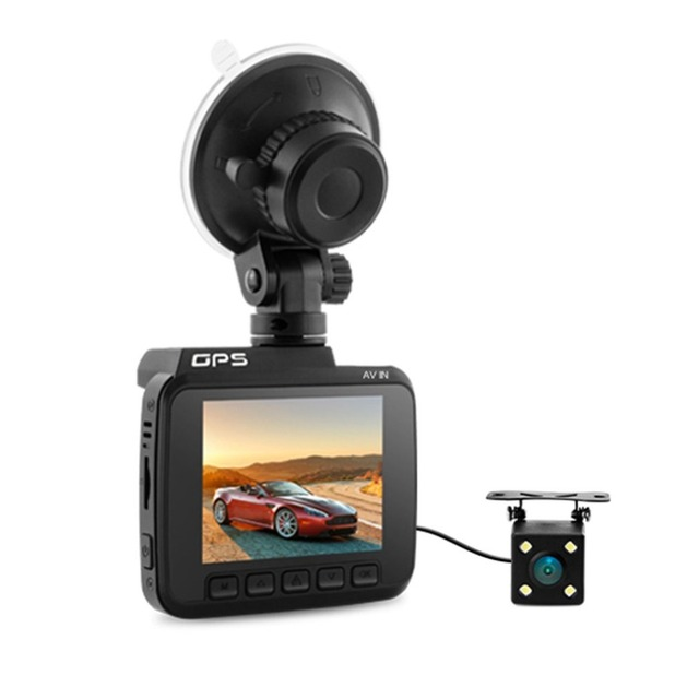 ACEHE Azdome GS63D Dual Lens Car DVR FHD 1080P Front VGA Novatek Camera Built in WiFi