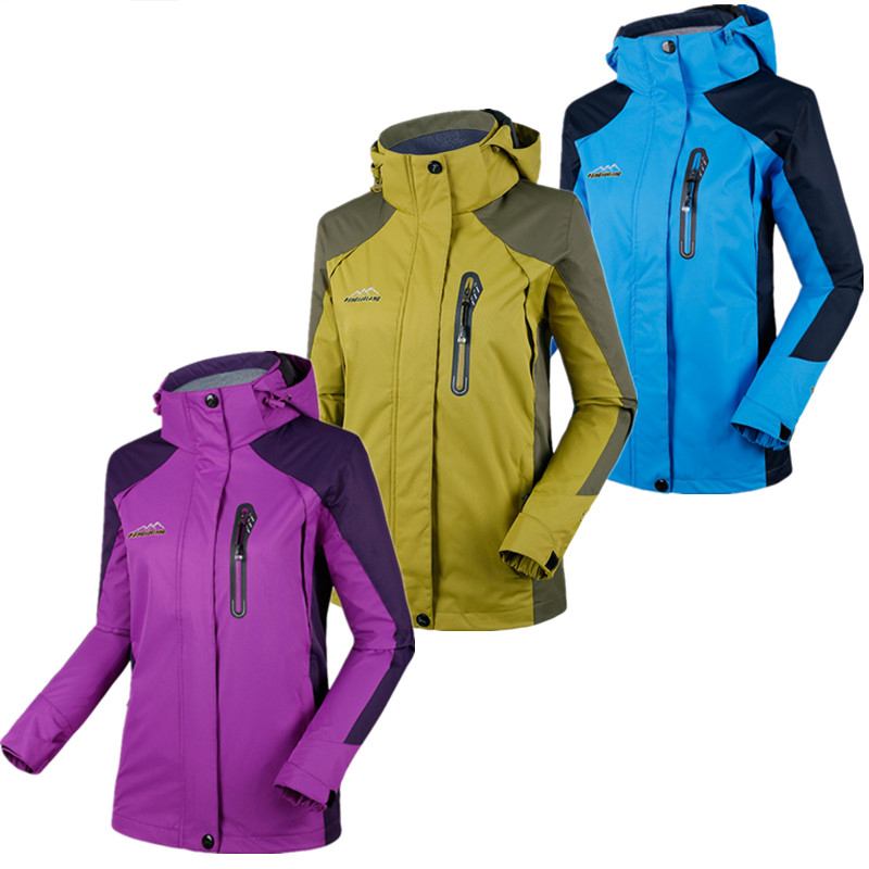 Spring autumn men women thin section single breathable waterproof wear  resistant couple mountain climbing travel