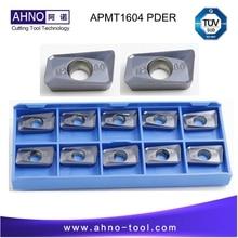 Здесь можно купить  Lathe Inserts or Turning Inserts APMT 1604 PDER-M2 YKF800 10pcs/lot Free Shipping