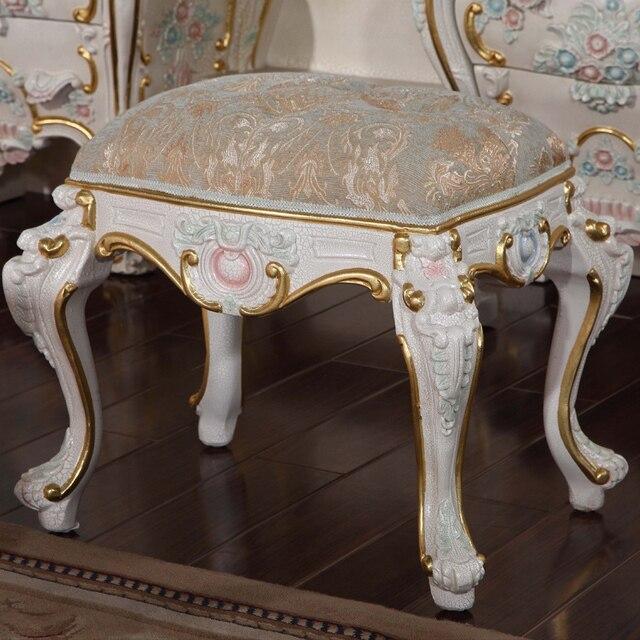 Regalo romántico muebles muebles de madera sólida mano talla ...