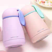 Cartoon Rabbit Vacuum Flasks Stainless Steel Travel Mug Thermal Drink Water Bottle Kettle Tea Coffee Mugs