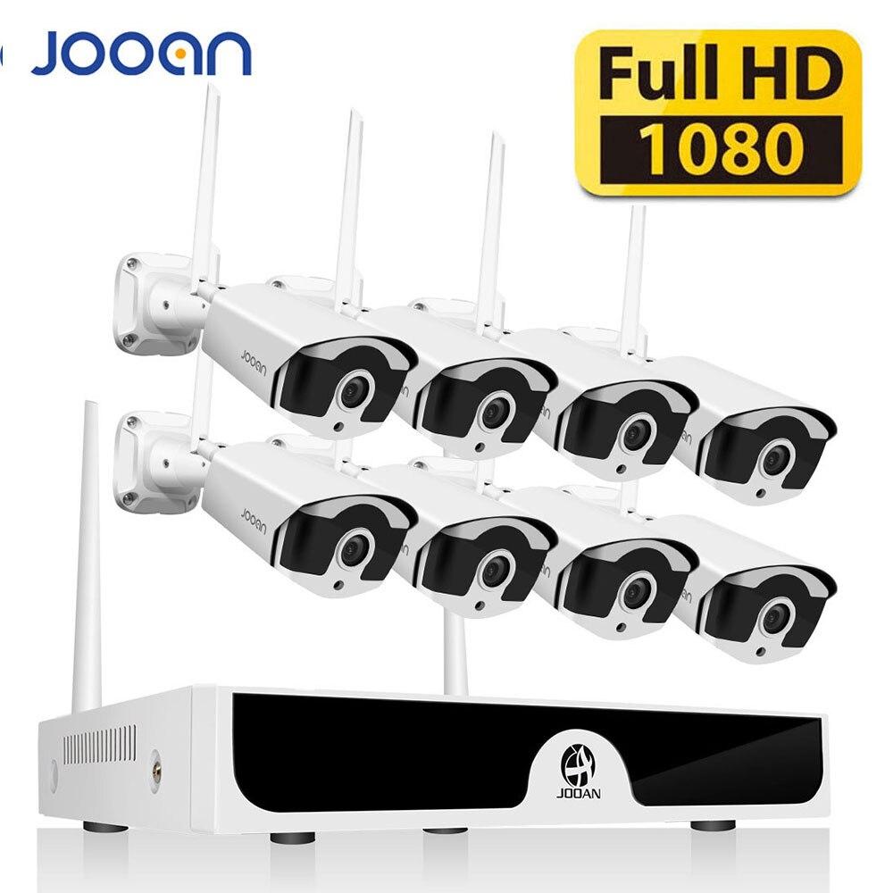 8CH CCTV Sistema di P2P Senza Fili 1080 P HD NVR Con HD 2.0MP A Raggi Infrarossi per Esterni Impermeabile Wifi Sistema di Telecamere di Sicurezza di Sorveglianza kit