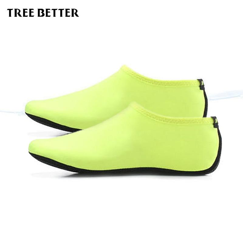 Antypoślizgowe miękkie skarpetki męskie Kobiety Oddychające buty - Sporty wodne - Zdjęcie 5