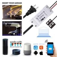 Wofea WiFi Switch Smart Garage Door Opener Controller with Alexa Google Home and IFTT Smart Life/Tuya APP control