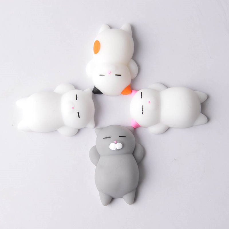 Antistress Funny Soft Animals Squeeze Toy Anti Stress Toys Kawaii Slow Rising Squish Gags Practical Stress Relieve Toy baby toy diamond huge pink blue giant slow rising soft toy gift collection squishying 21 17cm antistress ball relief funny gift toys