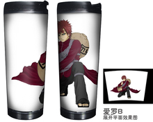 Anime Naruto Gaara Double Insulation Coffee Tea Cup Bottle MUGS