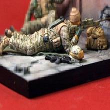 1:35 Resin Figure Model Kit Unassambled  Unpainted X093