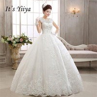 2017 Summer Vestidos De Novia Real Photo O Neck Short Sleeves Quality Wedding Dresses White Princess