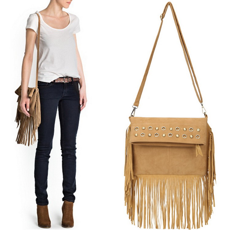Popular Tan Tassel Bag-Buy Cheap Tan Tassel Bag lots from China ...