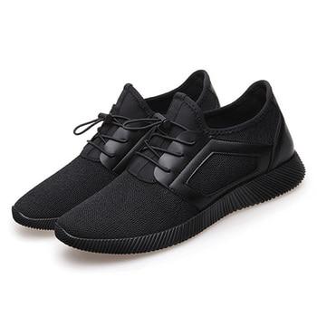 827e7024d Homens Homem Sapatos Sneakers Moda Masculina Sapatos Casuais Sapatos de  Malha Respirável Leve Sapatos Masculinos Adulto Krasovki Zapatos Tenis  Feminino